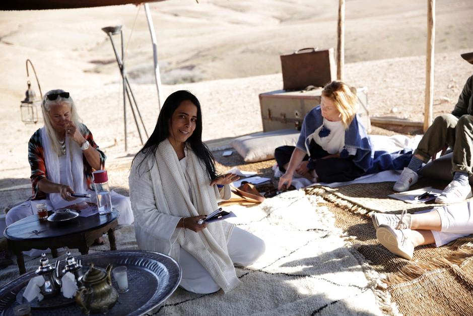 Tea Rituals in the Desert