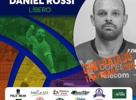 Daniel Rossi está de volta ao Vôlei Futuro!