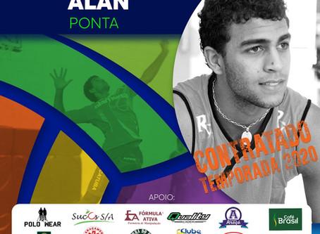 Vôlei Futuro traz de volta Alan Araújo