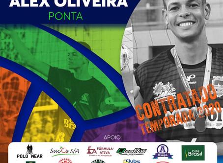 Alex Oliveira é o mais novo atleta do Vôlei Futuro