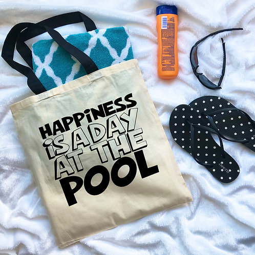 Happiness Is A Day At The Pool