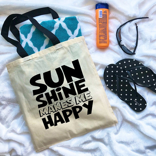 Sun Shine Makes Me Happy