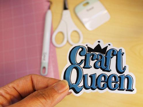 Craft Queen Sticker