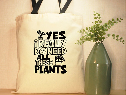 Yes, I Really Do Need All These Plants