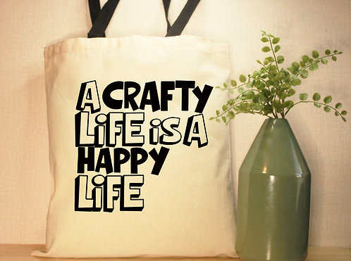 A Crafty Life Is A Happy Life