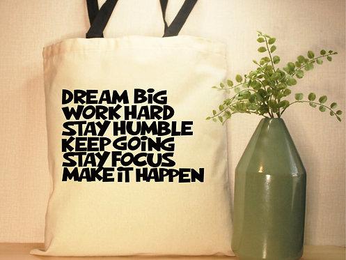 Dream Big List