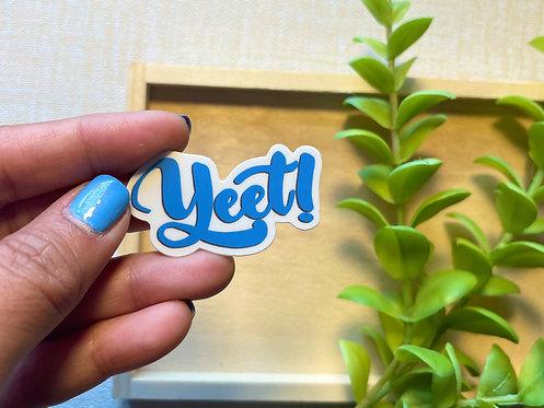 Yeet Cursive Sticker