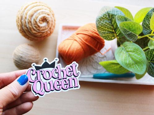 Crochet Queen Sticker