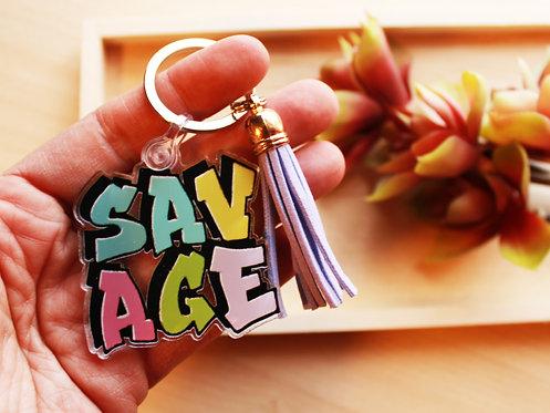 SAVAGE Keychain