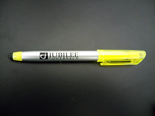 Pen, Highlighter, and Stylus in one