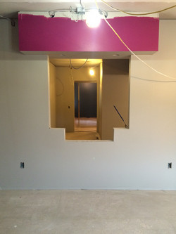 Walls are painted! Check in area