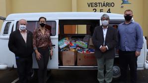 Campanha da 1ª Copa do Bem já contabiliza uma tonelada de alimentos