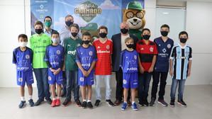 Sub 16 reúne Gramadense, Inter, Grêmio, Juventude, Flamengo e Palmeiras