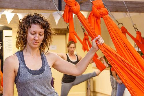2 Hour Aerial Yoga Workshop