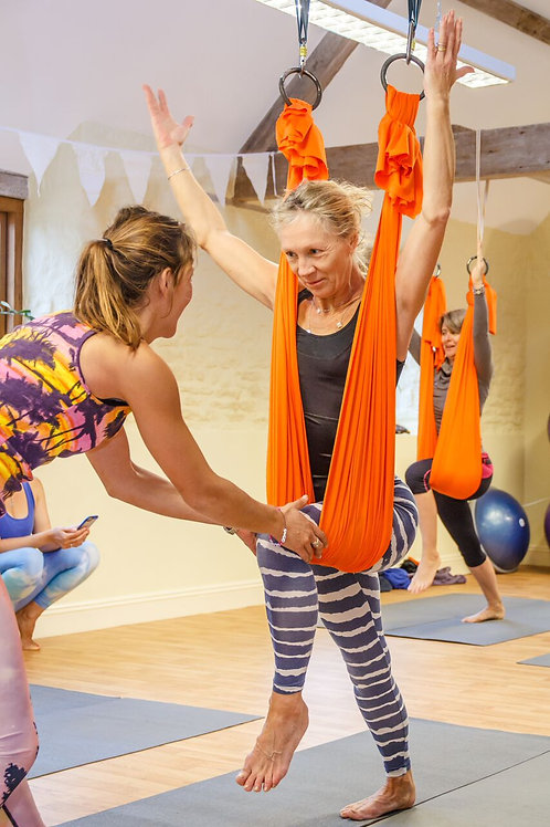 1 Hour 121 Aerial Yoga Tuition