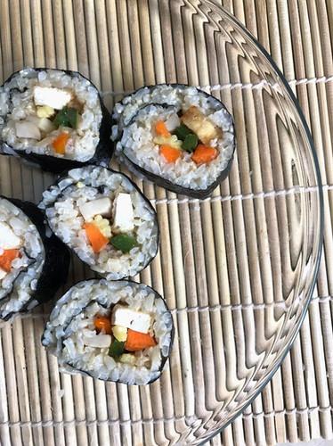 Tofu Kimbap