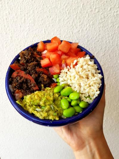 Brown Rice Burrito Bowl