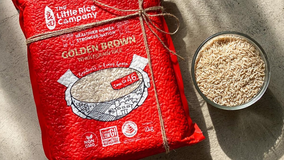 [Rice Subscription] Low GI Wholegrain Brown Rice - 1 X 2kg