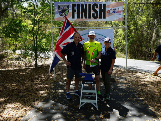 Dave Hathaway Completes Double Ultra Triathlon Event