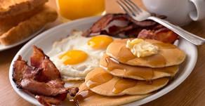 Does pre-race breakfast make you feel sick?