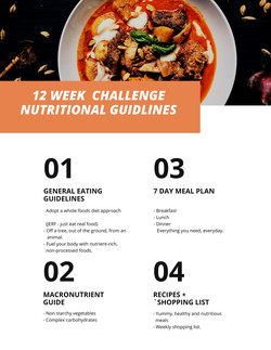 Summer meal plan week 1-29