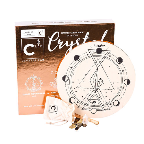 CRYSTAL GRID KIT- To manifest and take charge!