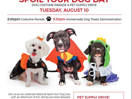Aging Optimist Celebrates National Spoil Your Dog Day at HarborChase Riverwalk, Rock Hill, SC