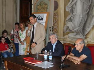 Salvatore Borsellino in visita a Vimercate
