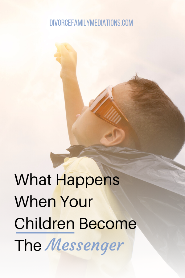 Are you having the children deliver messages to your ex so you don't have to speak to them? Here is what happens when the children get placed in the middle #coparenting #parenting #coach #divorce #childdevelopment