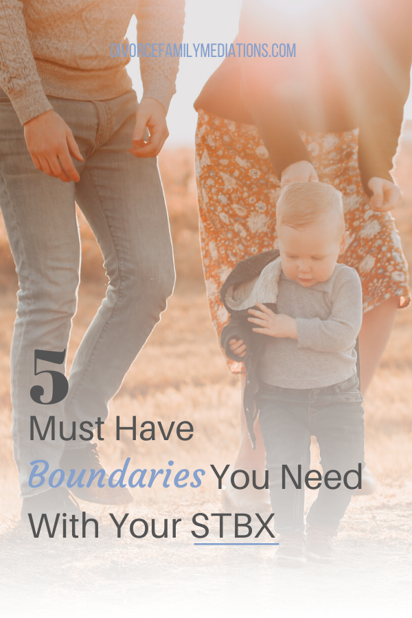 Going through a divorce? Having boundaries with your co-parent is the key to successfully raise your children together. #boundaries #coparenting #divorce #relationships #family #parenting