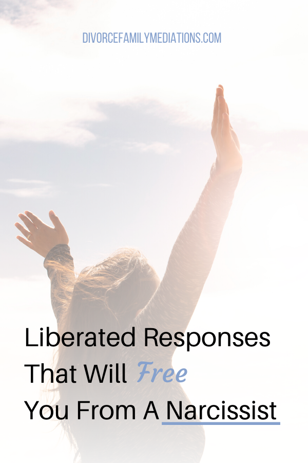 Are you co-parenting with a narcissist? These liberated responses will save you from the emotional distress. #coparenting #parenting #narcissisticabuse #narcissisticawareness #positiveparenting