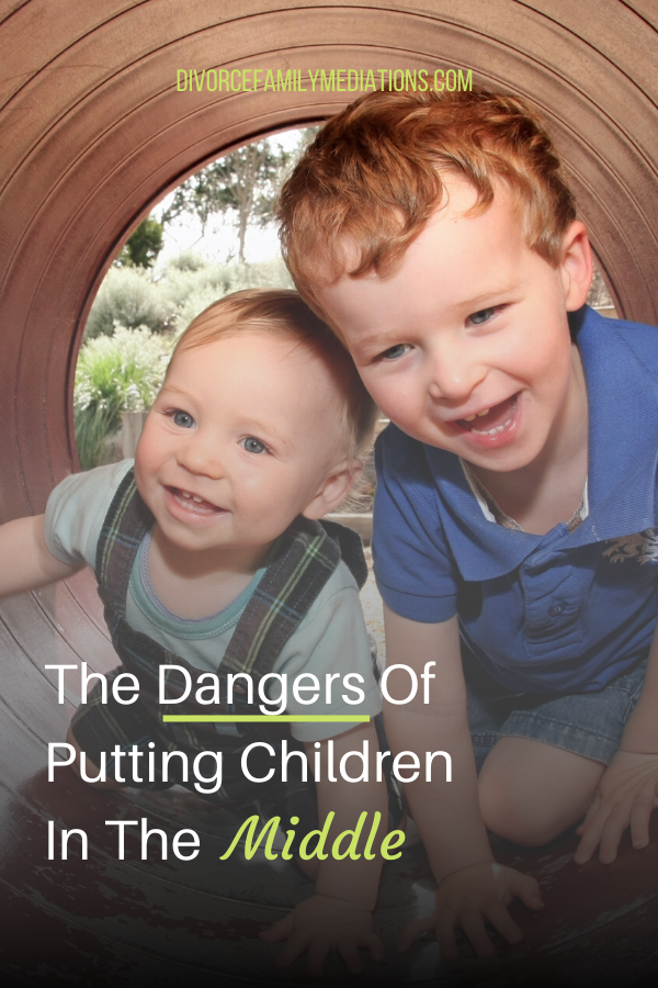 Is your ex putting your children in the middle of your divorce? Here is what happens when children have to endure adult issues. #coparenting #divorce #children #mentalhealth #emotionalhealth #coach