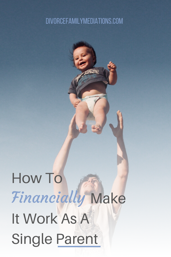 Are you struggling to make ends meet as a single parent? Follow these tips to financially get yourself back on track. #singleparent #parenting #coparenting #finances #moneytalk