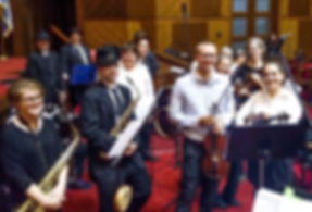 Temple Sholom Band_Simchat Torah 2019_2.