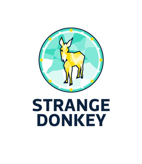 Boozt_strange_donkey_logo_hexagon