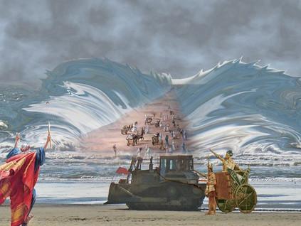 Pesach: Cutting the Sea Open ~ Rabbi Reuven Chaim Klein