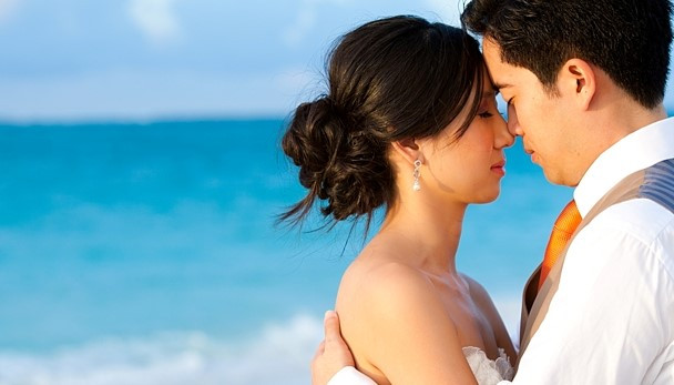 Turks and Caicos Wedding hair and makeup
