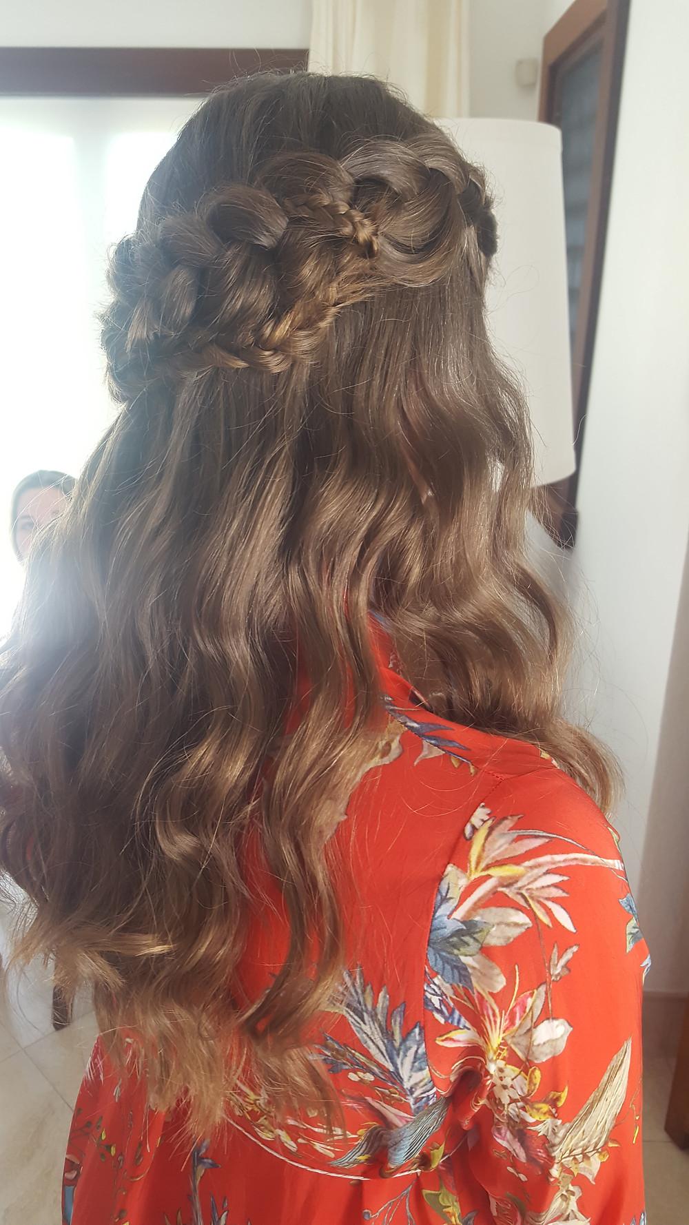Beach waves with braids