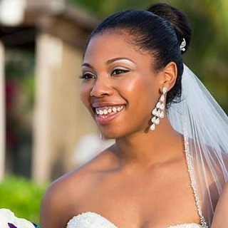 turks and caicos wedding bride