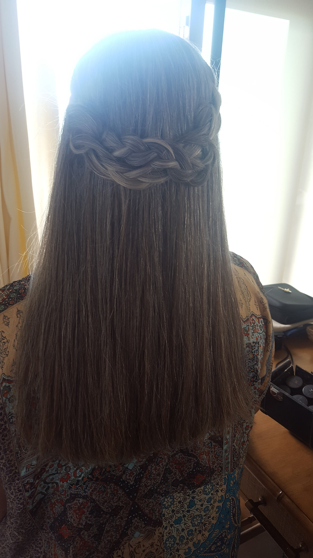 braids with straight hair