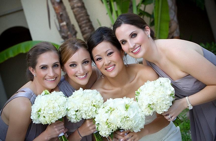 Hair & Makeup w/ Wedding Party