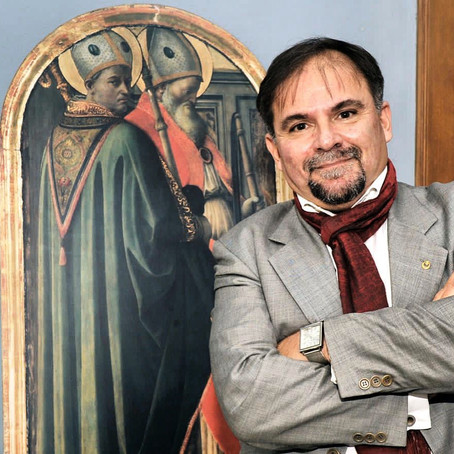 Mr. Salvo Bitonti is the curator of the Art and Education Sector of European Expo Dubai