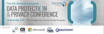 The 6th Annual European Data Protection & Privacy Conference