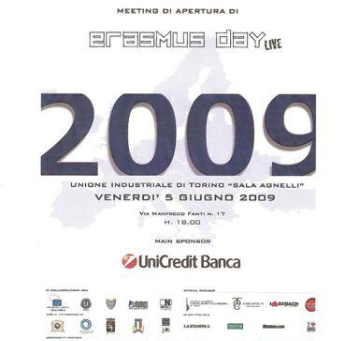 """Meeting di Apertura """"ERASMUS DAY LIVE 2009""""."""