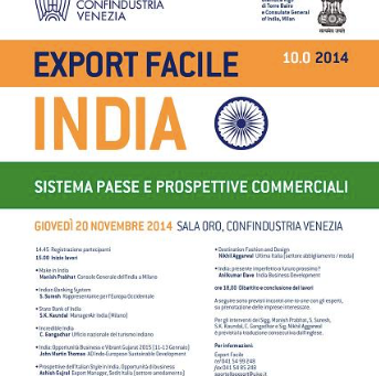 """Convegno Internazionale, Confindustria Venezia """"Sistema Paese e Prospettive Commerciali"""""""