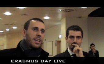 """Conferenza Stampa """" Presentazione di Erasmus Day Live 2010 presso l'Europarlamento di Bruxelles """""""