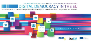 "European Conference ""Digital Democracy in the EU"""
