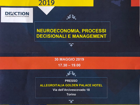 "Conference "" Neuroeconomia, processi decisionali e management """