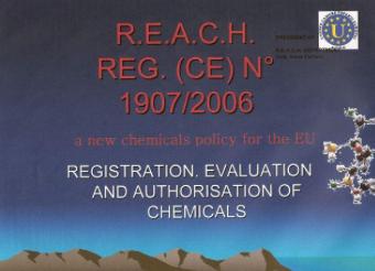 U.C.E.E. PROJECT - DEPARTMENT R.E.A.C.H. (REGISTRATION, EVALUATION, AUTHORISATION OF CHEMICALS)