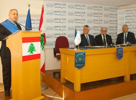 ECONOMIC AND CULTURAL MISSION OF U.C.E.E. IN BEIRUT, LEBANON
